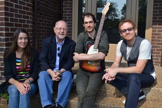 (L to R):Leslie Mitchell, Grin Like A Dog Songs, Woody Bomar, Green Hills Music Group, Rich Karg, Steve Mitchell, Grin Like A Dog Songs