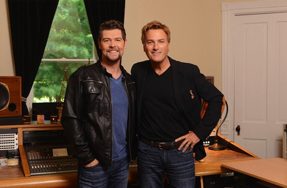 Pictured (L-R): Jason Crabb and Michael W. Smith
