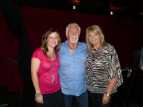 Pictured (L-R): Former Leadership Music President Lori Badgett, Rogers, and Diane Pearson, President-elect of Leadership Music.