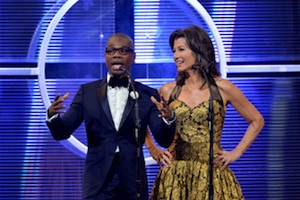 Pictured (L-R): Kirk Franklin and Amy Grant