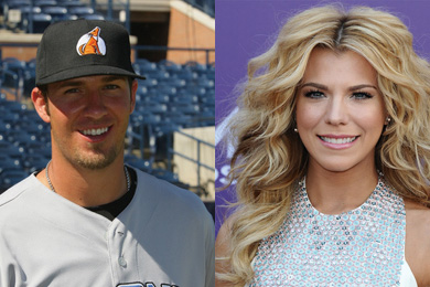J.P. Arencibia and Kimberly Perry