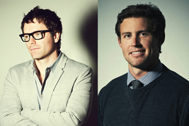 Bobby Bones, Ryan Beuschel. Photos: Cameron Powell