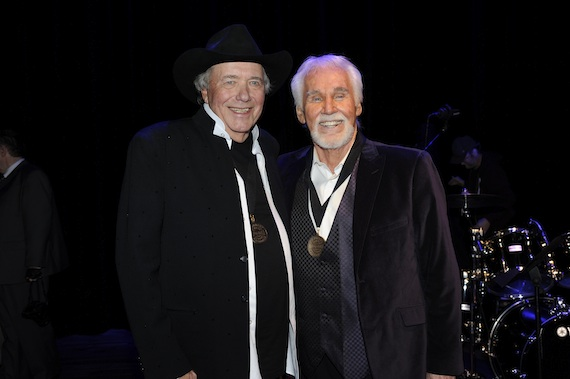 Bobby Bare and Kenny Rogers. Photo by Donn Jones