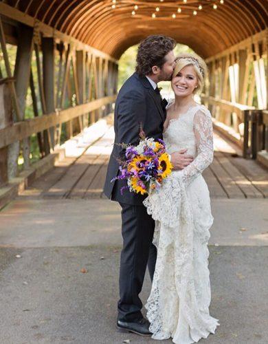 Brandon Blackstock and Kelly Clarkson. Photo: