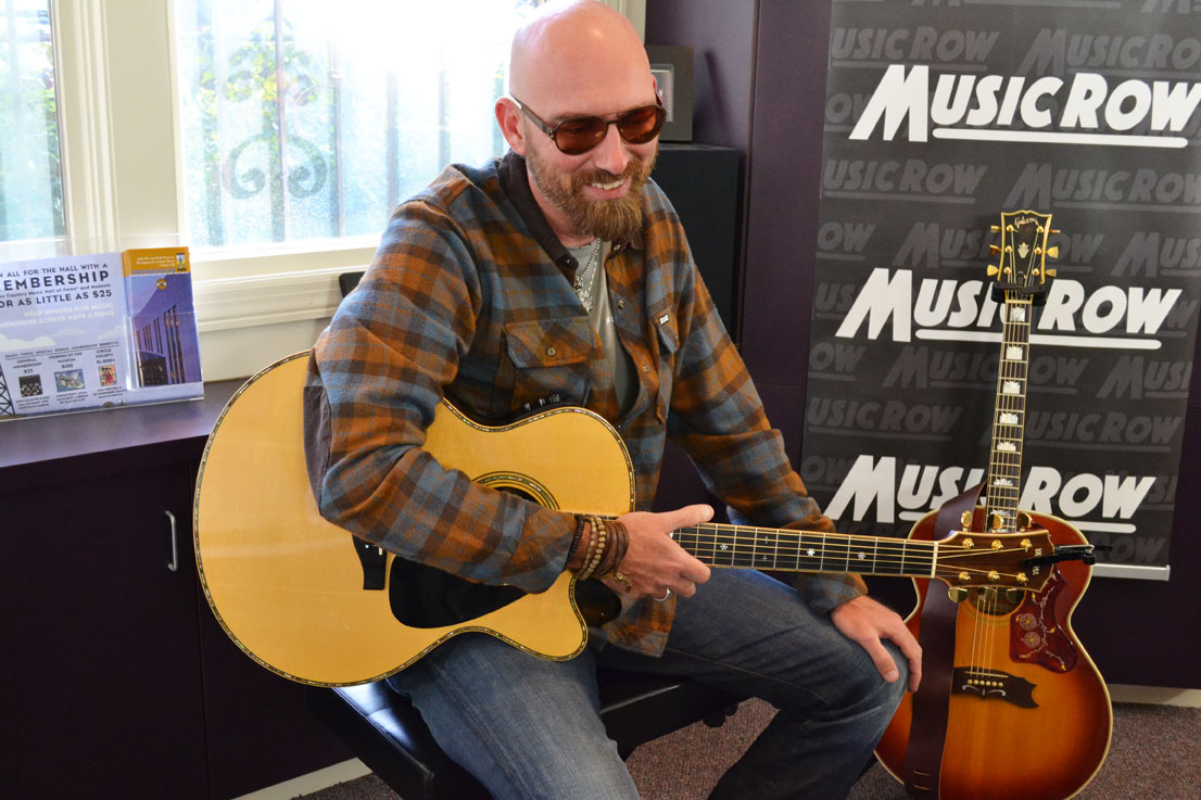 Corey Smith Artist Visit