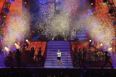Taylor Swift at Nashville's Sept. 21 'Red Tour' stop.