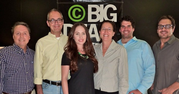 Pictured: Jody Williams of BMI, Dale Bobo of Big Deal, Hannah Blaylock, Linda Edell Howard of Adams and Reese, Greg Gallo of Big Deal and Pete Robinson of Big Deal.