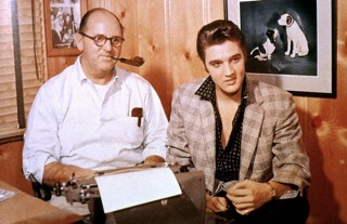 Colonel Tom Parker and Elvis