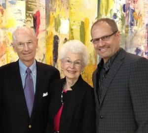 Pictured (L-R): Eugene Innis, Betty Innis, Dave Innis.