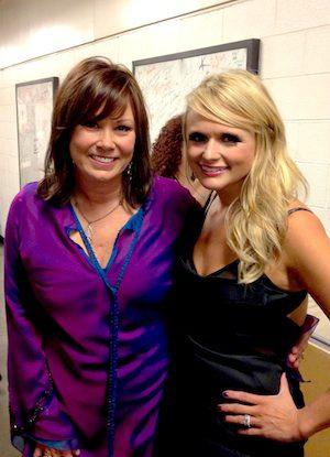 Pictured (L-R): Suzy Bogguss and Miranda Lambert