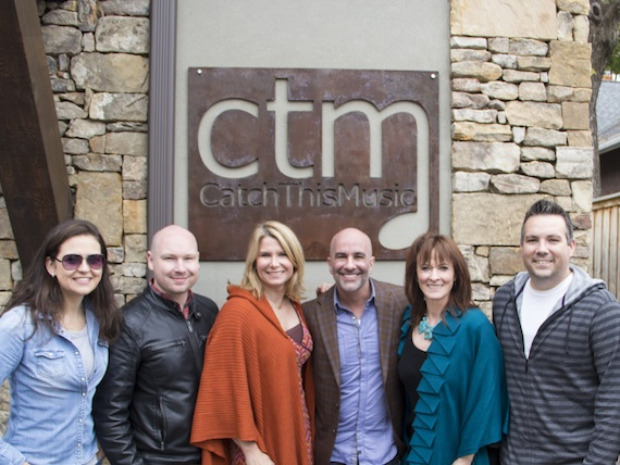Pictured (L-R): CTM's Rebekah Long, Shawn Bowling, Shona Robertson Burr, Eddie Robba, Debi Cochran and Brandon Perdue.