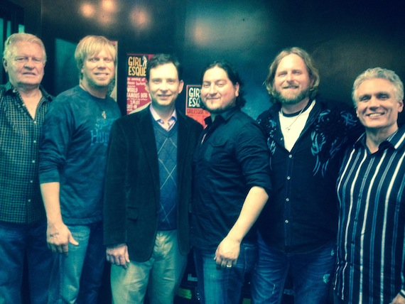 Pictured (L-R): Herbert Graham (Graham Artist Management), Fred Stallcup, Brian Jones (WME), Danny Rivera, Thomas Hewlett, Craig Morris (Graham Artist Management).
