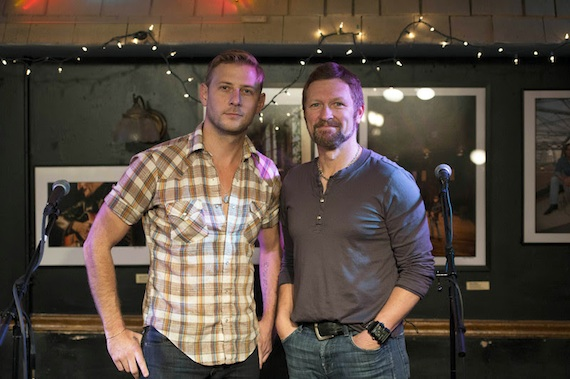 Pictured (L-R): Jimmy Stanley and Craig Morgan