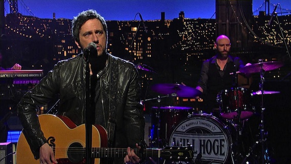 Will Hoge on CBS' The Late Show with David Letterman