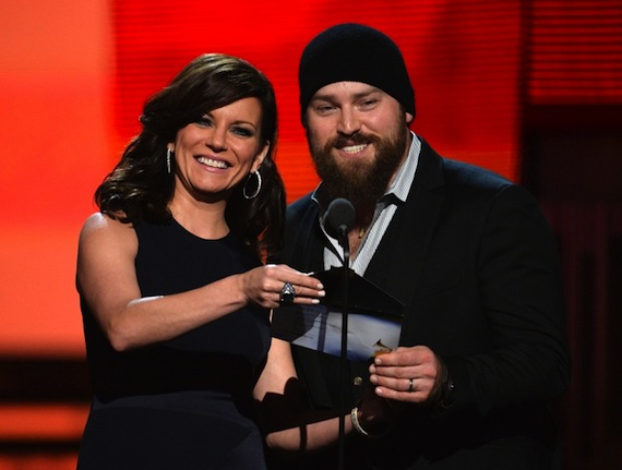 Martina McBride and Zac Brown present.