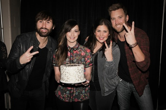 Photo L to R: Dave Haywood, Kacey Musgraves, Hillary Scott, Charles Kelley