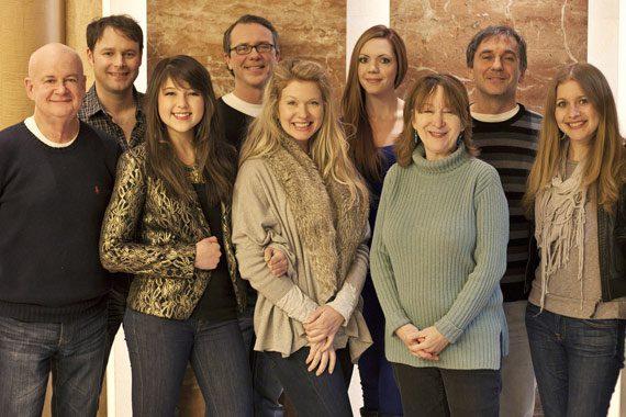 Pictured (L-R): Cliff Williamson, John Milstead, Caroline Kole, Jimmy Metts, Julie Forester, Kellys Collins, Liz Hengber, Will Robinson, Alex Kline.