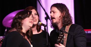 The Secret Sisters and John Paul White perform.