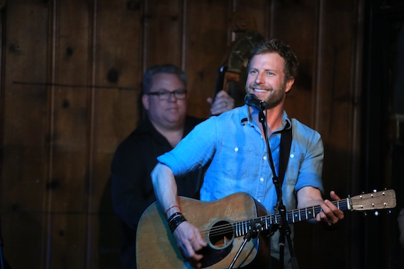Dierks Bentley performs at The Station Inn in 2014. Photo: Bev Moser, Moments By Moser