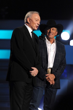 Dallas Cowboys owner Jerry Jones at the ACM Awards. Photo: ACM