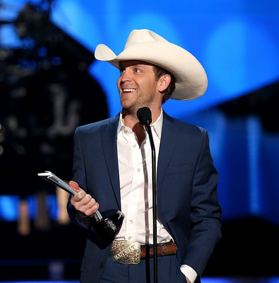 Justin Moore earns New Artist of the Year. Photo: ACM