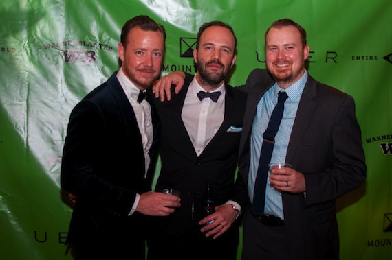 Pictured (L to R): Henry Pile, VP Sales and Marketing, Consensus Point; Jacob Jones, owner/founder Mountain;Austin Gray.