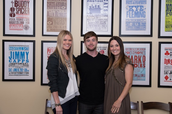 Pictured (L-R): Nicolle Galyon, Jimmy Robbins and Natalie Hemby.