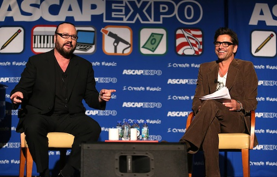 HOLLYWOOD, CA- APRIL 26: Desmond Child: Brought In for Questioning at the 2014 ASCAP EXPO at the Loews Hollywood Hotel on April 26, 2014 in Hollywood, California. (Photo by Michael Underwood/PictureGroup)