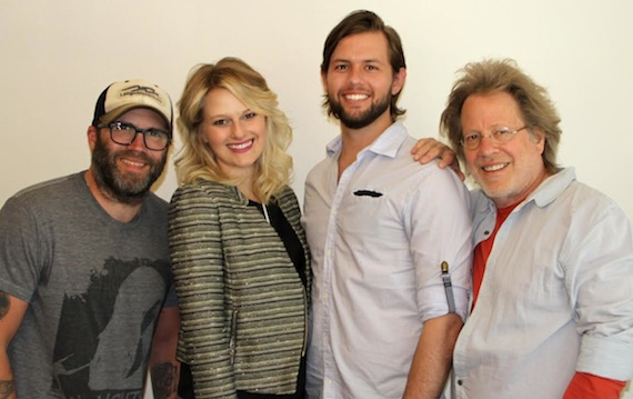 Pictured (L-R): Andrew Dorff, Beth Brinker, Jeston Cade, and Steve Dorff.