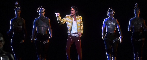 Michael Jackson hologram at the BBMA.