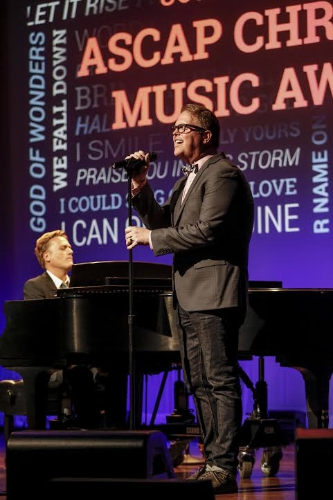 Michael W. Smith and Bart Millard. Photo: Ed Rode