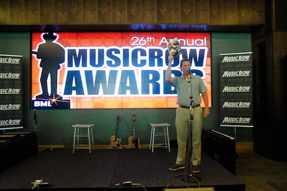 BMI's Clay Bradley highlights MusicRow's Artist Roster issue, featuring BMI writers Rhett Akins and Thomas Rhett.