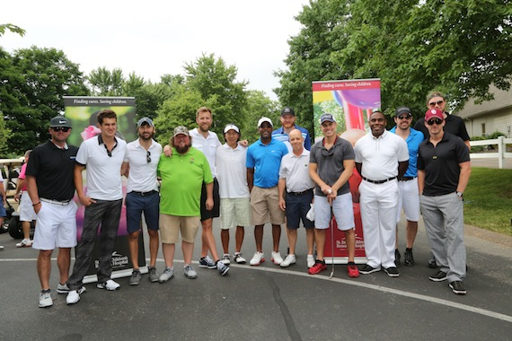 "Celebrity golfers support St. Jude Children's Research Hospital at the annual ""Darius And Friends"" Golf Tournament on June 3. Photo: Randi Radcliff"