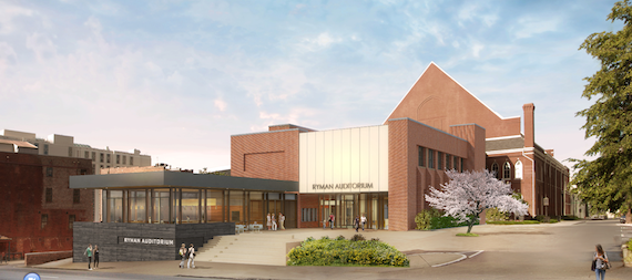 Renderings of proposed expansion