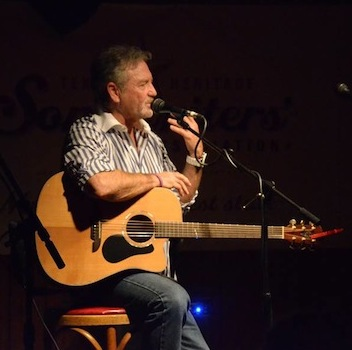 Larry Gatlin plays.