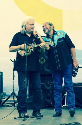 Ricky Skaggs performs with the Marshall Tucker Band. Photo: Thomas Newton