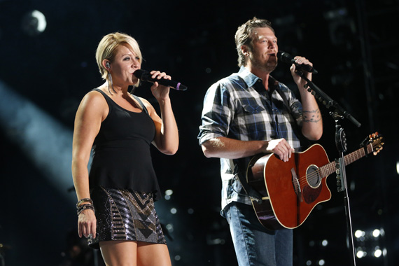 "Blake Shelton and Gwen Sebastial will perform during ""CMA Music Festival: Country's Night to Rock"" airing Tuesday, Aug. 5 on the ABC Television Network. Photo: John Russell/CMA"