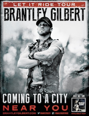 brantley gilbert let it ride tour111