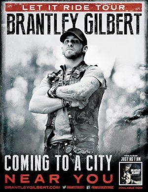 Brantley gilbert tour dates in Sydney
