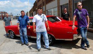 Pictured (L-R): Scott Kwapiszeski, Andy Eutsler, Bobby DeGonia, Brad Allen and Cory Shultz. Photo: Flick Wiltshire