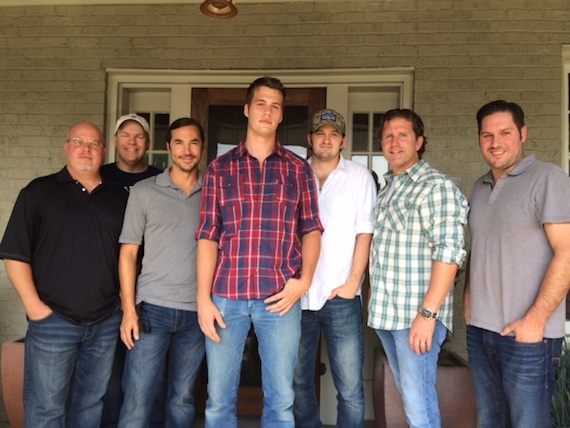 Pictured (L-R): Driskill, Mike Owens, Wooten, Brooker, Jake Gear, Chris DuBois and Freeman Wizer
