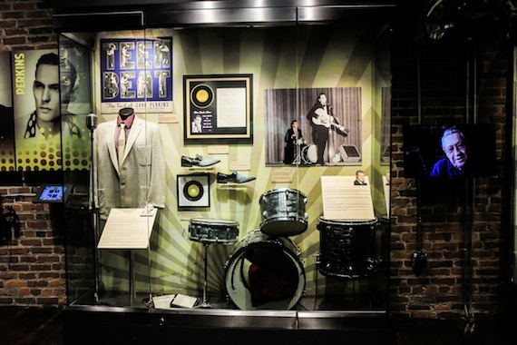 Johnny Cash museum's Sun Records Exhibit. Photo: Bev Moser, Moments By Moser