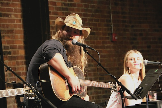 Chris Stapleton and Nicolle Galyon.