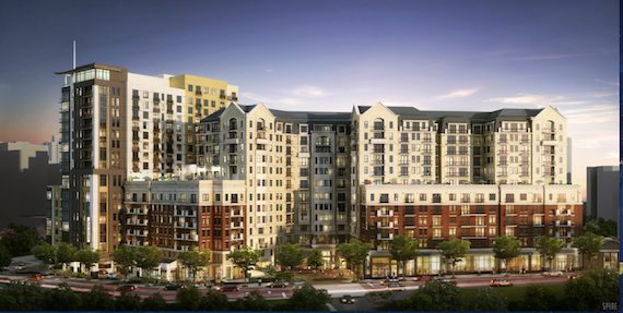 A rendering of the Kimpton project.