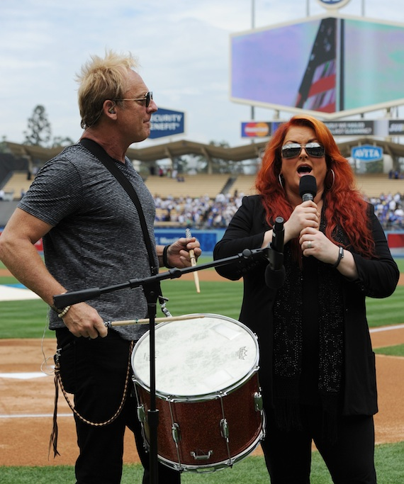 Pictured (L-R): Cactus Moser and Wynonna