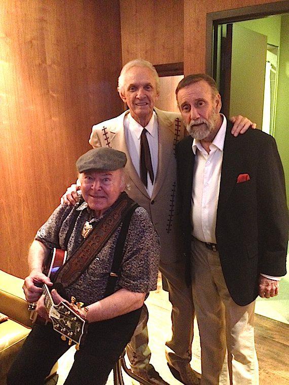 Pictured (L-R): Roy Clark, Mel Tillis, Ray Stevens