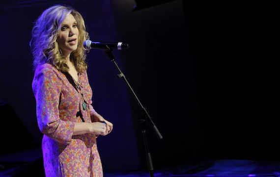 Alison Krauss performs at the 2014 Country Music Hall of Fame Induction Ceremony. Photo: Terry Wyatt