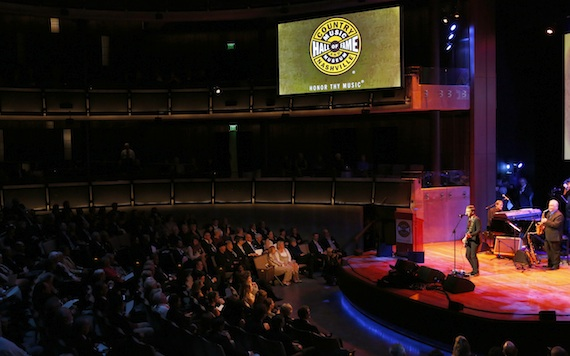 Hunter Hayes performs at the 2014 Country Music Hall of Fame Induction Ceremony – photo by Donn Jones1