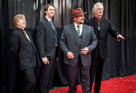 Instrumental Group of the Year, Frank Solivan and Dirty Kitchen. Photo: Willa Stein.