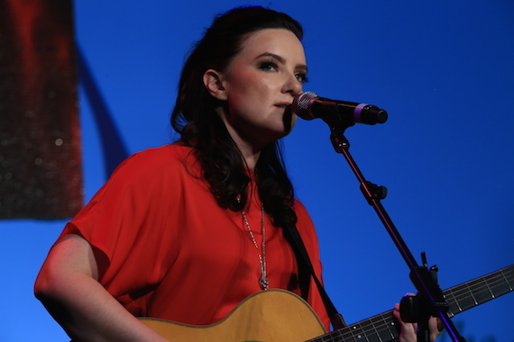 Performance by Brandy Clark. Photo: Bev Moser